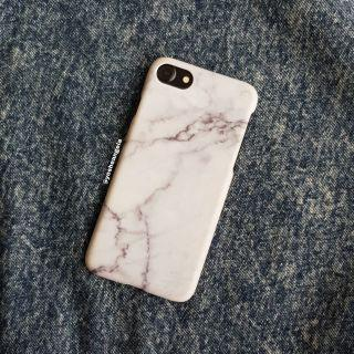 White Marble Hard Case for iPhone 7 / 8