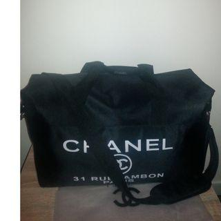 New Canvas VIP Gift Chanel Duffle Bag
