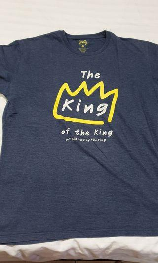 Skelly The king of the king kaos t-shirt