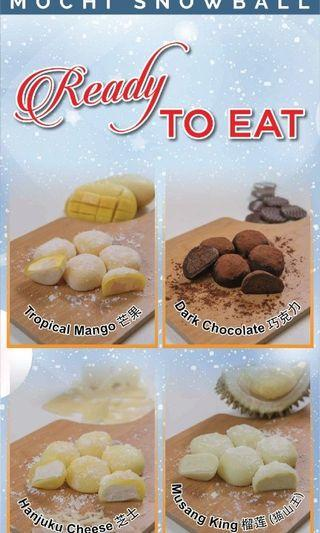 Snow Ball Mochi Durian Musang King