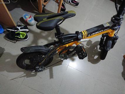 LANKELEISI 48V 8.7Ah 350W 14inch foldable e-bike 電動單車