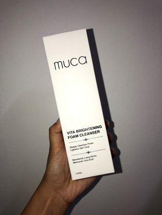 MUCA Vita Brightening Foam Cleanser
