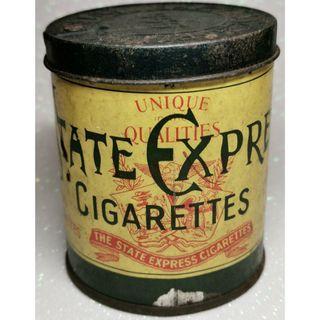 🚚 1950s Vintage 555 State Express Cigarettes Tin