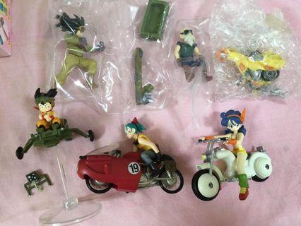 中古 Bandai Dragon Ball Mecha Collection 龍珠 共4款