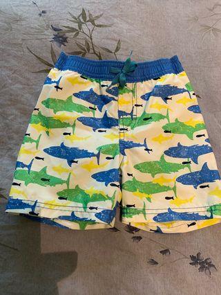 Boys swim trunk size 90 游水褲