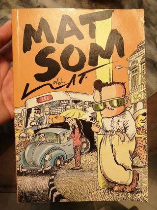 Vintage Mat Som by Lat 1989 comic book