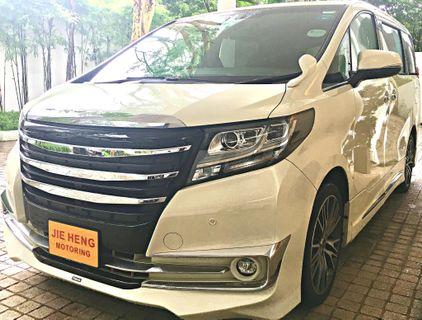 TOYOTA ALPHARD 350SA-C PACKAGE CVT ABS 2WD 5DR