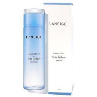 全新 Laneige Essential Power Skin Refiner Light 200ml  輕盈清爽細膚水 200ml