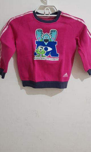 Sweater Pink Adidas - Monster University Brand