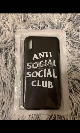 🚚 Anti Social Social Club iPhone XS Casing