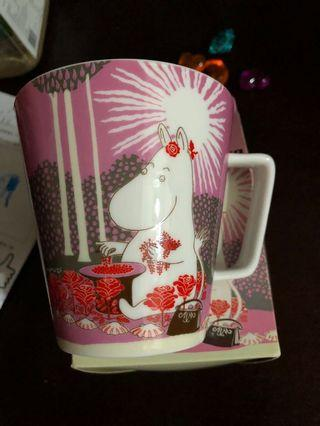 Moomin collections# pink ceramic single mug