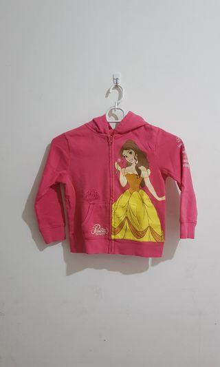 Jaket Disney Pink Princess Belle Beauty and the Beast