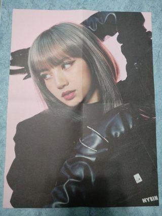 BLACKPINK kill this love LISA POSTER