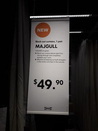 🚚 IKEA curtain