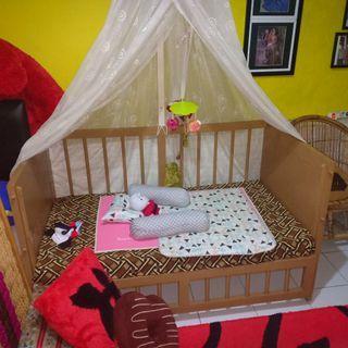 Tempat Tidur bayi / balita / box bayi