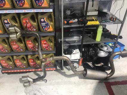 Scirocco 2012 1.4 Exhaust
