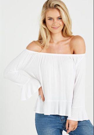 🚚 cotton on off shoulder top