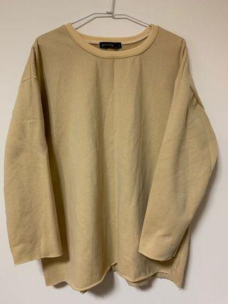 簡約風格刷毛上衣