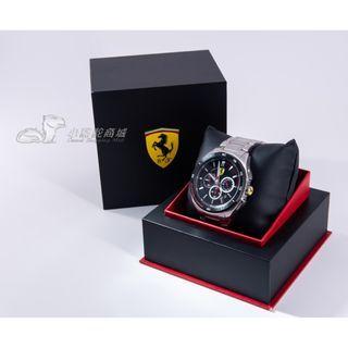 【拆封新品】法拉利 FERRARI 急速奔馳運動流行腕錶 男錶 手錶 0830188 原廠正品 完整盒裝