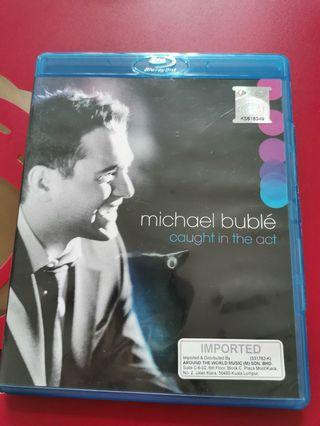 Michael Buble Caught in the Act Original Bluray