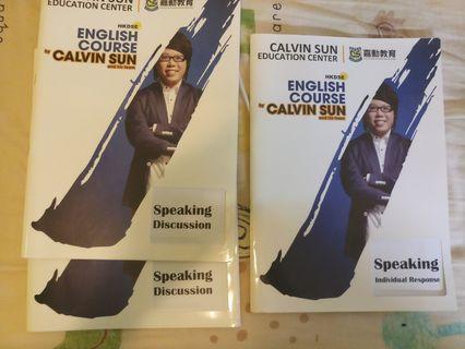 calvin sun notes 2019(oral skill)