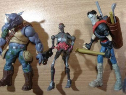 歡迎合理議價 1:12忍者龜 Ninja Turtles TMNT Casey Jones, Krang T-08, 犀牛Rocksteady(不是shf hasbro marvel legends star wars the black series mafex mezco revoltech comicave studio figma NECA)