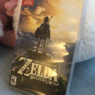 Switch 薩爾達傳說 Zelda 中文版