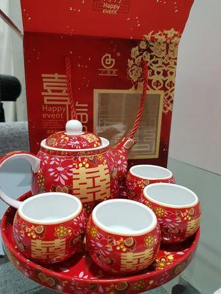 🚚 Chinese Wedding/Ceremony Tea Set