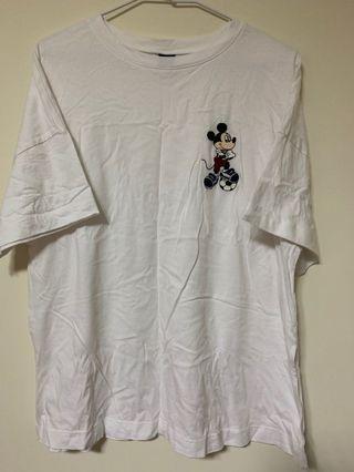 米奇白色簡約T-shirt