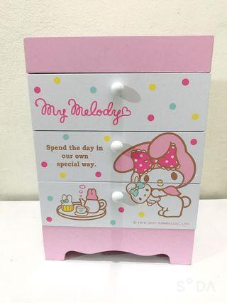 Melody 美樂蒂-收納盒/化妝品櫃/飾品櫃/珠寶櫃