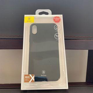Baseus手機殼 倍思 隕石壳 iPhone X IPX 黑色