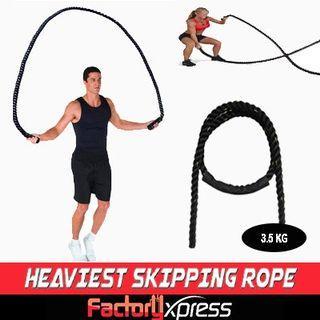 Skipping Rope- Heaviest skipping Rope/ MMA mutifuctional Skipping rope