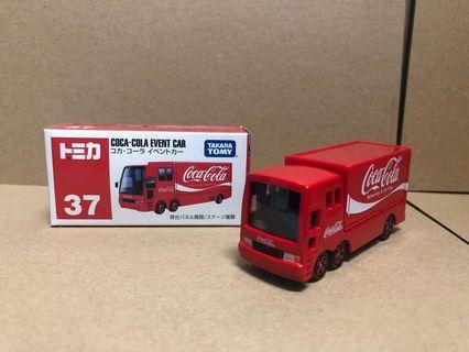 Tomy tomica Coca Cola event Car #37