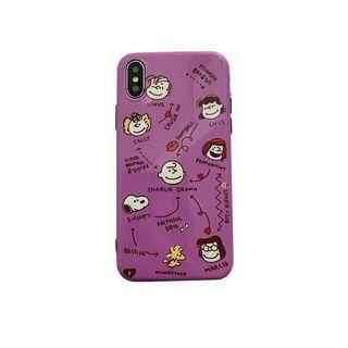 Iphone xs max snoopy case 套