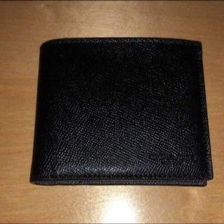 🚚 BN 💯 Authentic Coach Mens Wallet in Black Crossgrain leather