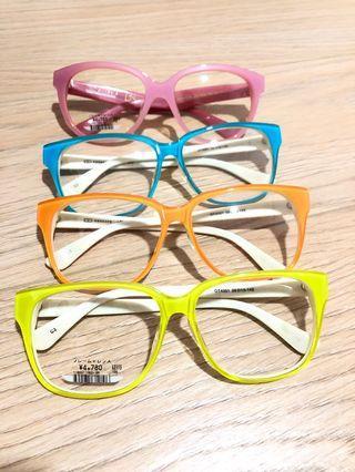 Owndays colour Plastic frames CHEAP deal!