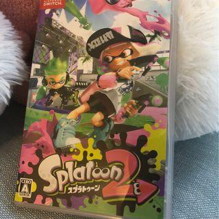 Switch Splatoon 2 噴射美少女 2 日文版