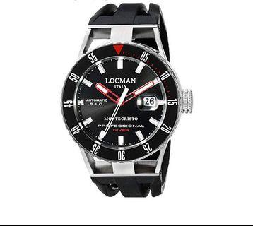 Locman Italy Montecristo Professional Watch 051300KRBKNKSIK