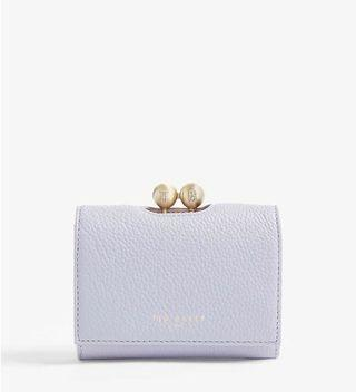 TED BAKER Maciey small leather purse
