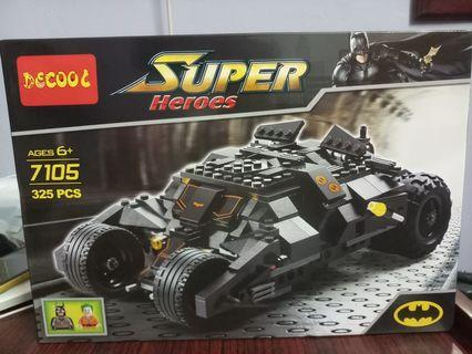 LEGO Batmobile Utk Lelaki Sejati.💪