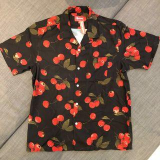 Supreme Cherry Rayon Shirt - SS19 Week 9