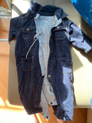 Chickeeduck 牛仔造型夾衣