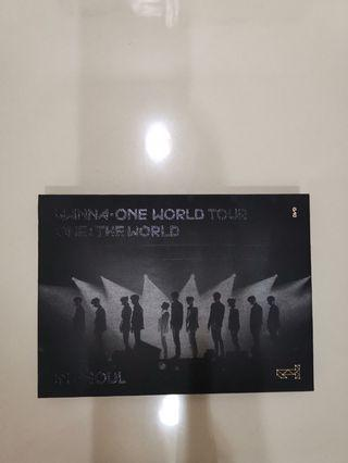 WTS Wanna One Official One: The World DVD
