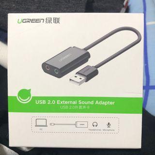 🚚 USB External Sound Adapter