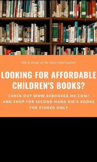 Lots of English children's books / only $10 each!