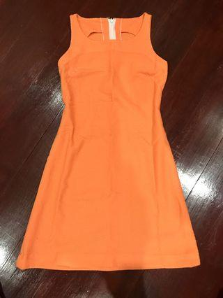 Orange Dress casual dress
