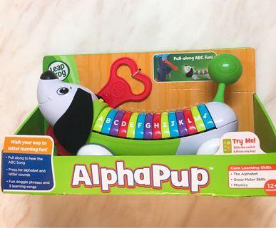 LeapFrog AlphaPup 音樂發聲狗