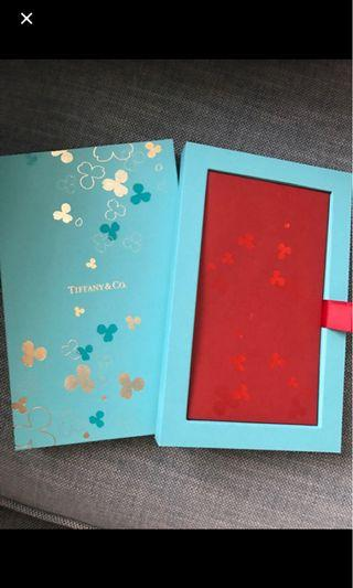 Tiffany & Co Red packets