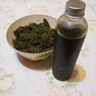 新鮮自家種艾草汁 超濃縮 無農藥 無添加 手工皂 渲染皂 改善濕疹