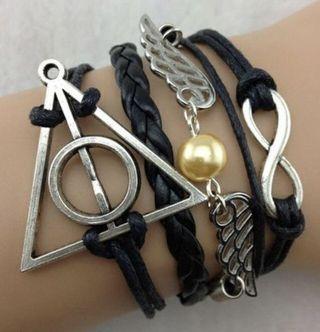 Harry Potter layered bracelet